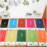Ten Teas Connoisseur Box - Ten-Teas Loose Leaf Tea