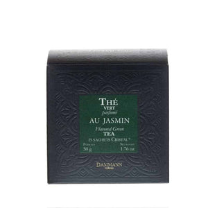 Green Jasmine Tea, box of 25 Cristal® sachets - Ten-Teas Loose Leaf Tea