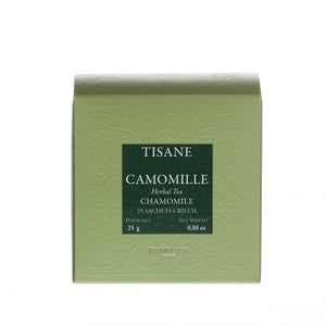 Herbal tea - Camomile, box of 25 Cristal® sachets - Loose Leaf Tea Subscription Boxes