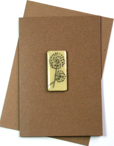 Art Card - Single Tile, Allium