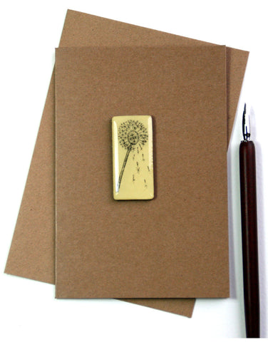 Art Card - Single Tile, Dandelion