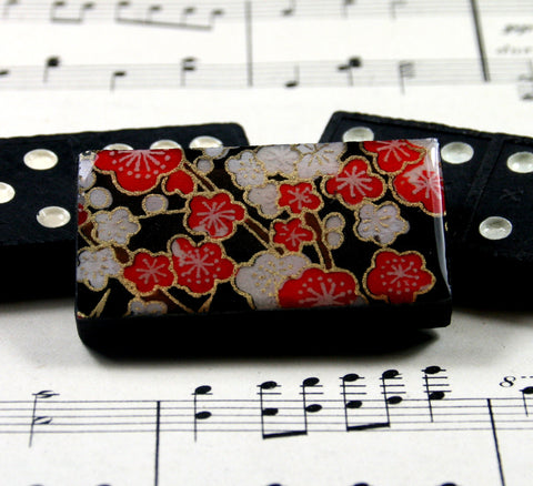 Domino Brooch - Sakura Cherry