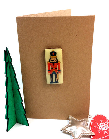 Christmas Art Card - Nutcracker