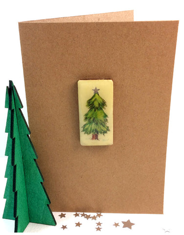 Christmas Art Card - Tree