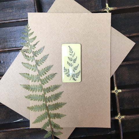 Art Card - Single Tile, Fern