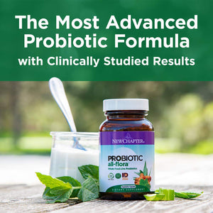 New Chapter Probiotic All-Flora - 60 Vegetarian Capsules
