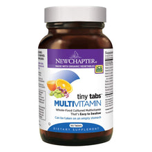 New Chapter Tiny Tabs Multivitamin with Fermented Priobiotics + Whole Foods + Vitamin D3 + B Vitamins - 192 Tablets