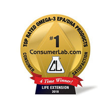 Life Extension Super Omega-3 Fish Oil with Sesame Lignans & Olive Extract, Heart & Joint Support - 240 Softgels