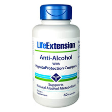 Life Extension Anti-Alcohol HepatoProtection Complex - 60 Vegetarian Capsules
