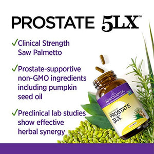 New Chapter Prostate 5LX Holistic Prostate Support - 120 Vegetarian Tablets