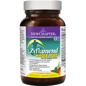 New Chapter Zyflamend Whole Body Herbal Pain Relief - 60 Vegetarian Capsules