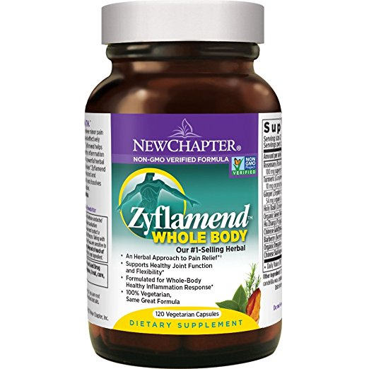 New Chapter Zyflamend Whole Body Herbal Pain Relief - 120 Vegetarian Capsules
