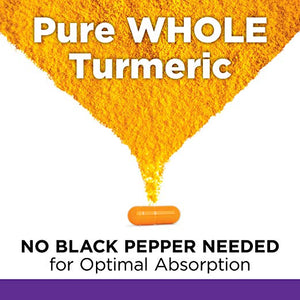 New Chapter Turmeric Force Nighttime Supplement, Sleep Aid plus Ginger Supports Restful Night and Inflammation Response - 60 Vegetarian Capsules