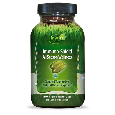 Irwin Naturals Immuno-Sheild All Season Wellness Immune System Support - 100 Liquid Softgels