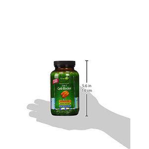 Irwin Naturals 3-in-1 Carb Blocker Appetite Control Metabolism Support - 150 Liquid Softgels