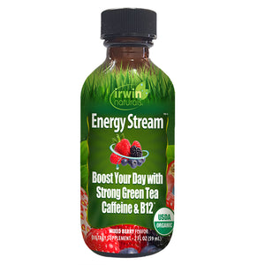 Irwin Naturals Organic Energy Stream Mixed Berry (2 fl oz)