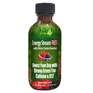 Irwin Naturals Energy Stream Red with Nitric Oxide Booster Mixed Berry (2 fl oz)