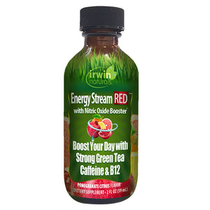 Irwin Naturals Energy Stream Red Energy Shot with Nitric Oxide Booster - Pomegranate Citrus (2 fl oz)