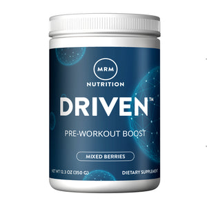 MRM Driven Pre-Workout Boost Powder, Mixed Berries, 12.3 oz
