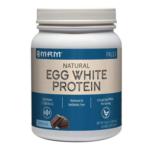 MRM Egg White Protein Powder, Paleo, 6 Egg Whites Per Serving, 24 oz Chocolate
