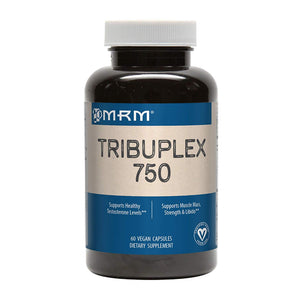 MRM TribuPlex 750 mg, Testosterone Supplement, 60 Vegan Capsules