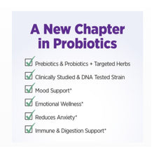 New Chapter Mood Support Probiotic Supplement, Digestive and Immune Health, 30 Vegan Capsules - 0114