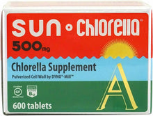 Sun Chlorella A Tablets 500mg Chlorella Vitamin Supplement for General Wellness
