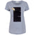 Brook Grey Abstract Gold Splash Print T-shirt Front View