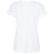 Telford White Grey Camouflage Abstract Print T-shirt Back View