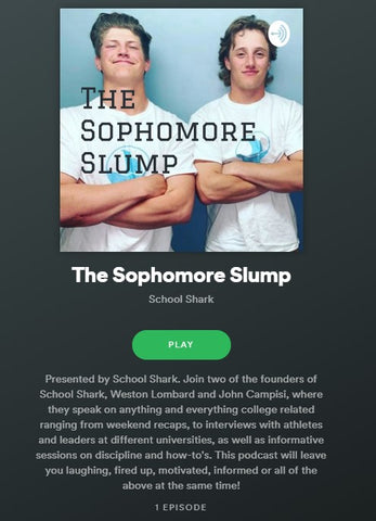 School Shark Podcast - Sophomore Slump