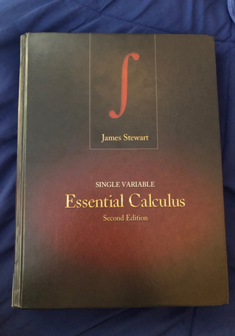 MCS-118: Single Variable Essential Calculus Second Edition