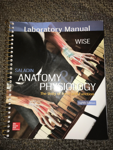 HES-234 & 235: Saladin Anatomy & Phisiology Labatory Manual