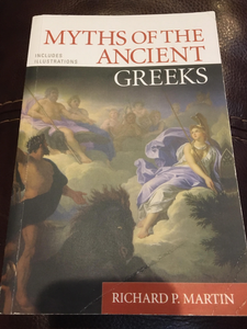 CLA 101: Myths of the Ancient Greeks