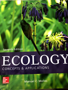 BIO-202 Evolution and Ecology: Ecology Concepts and Applications 7th Edition
