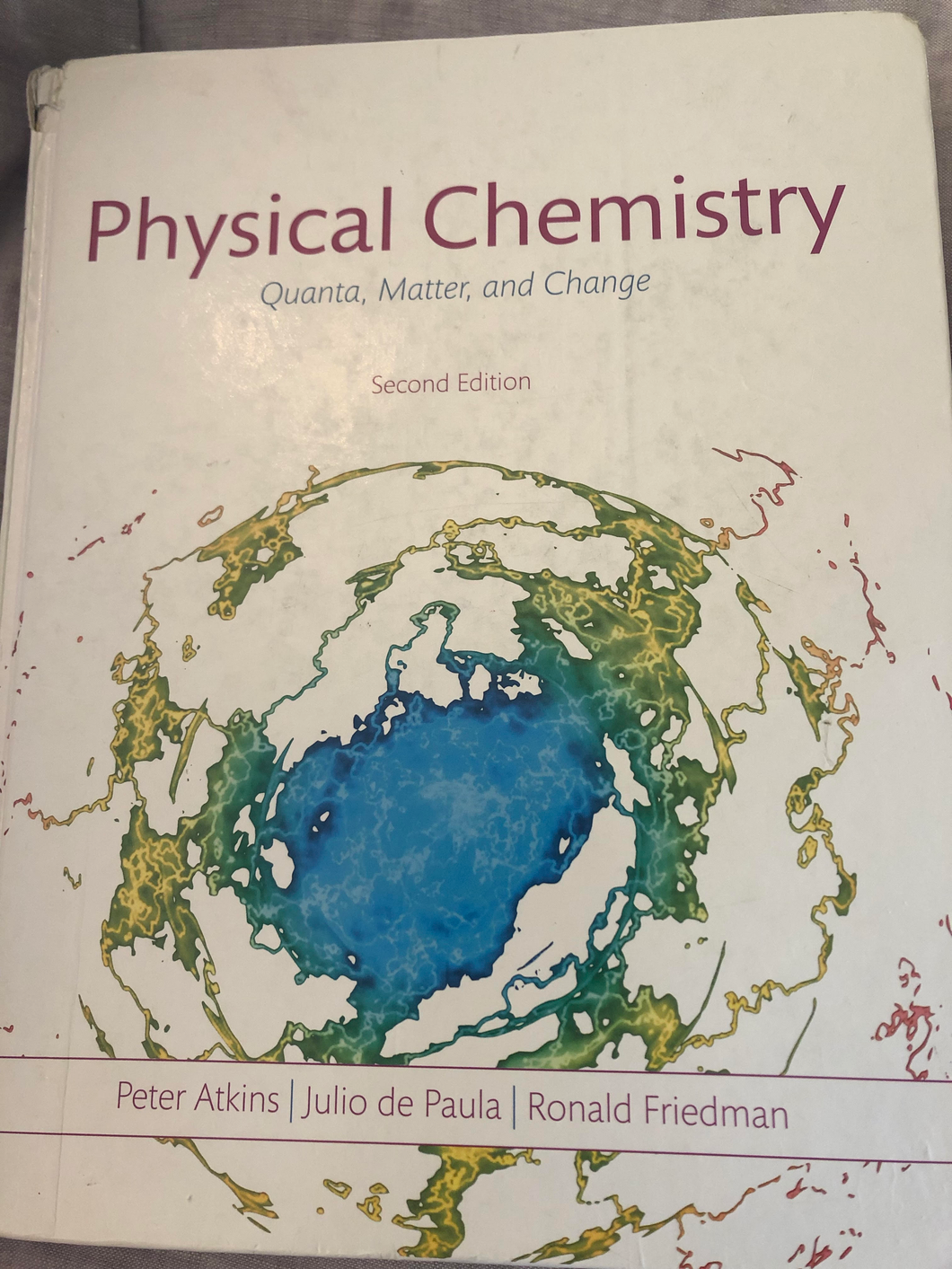 CHE-371 &372  Physical Chemistry