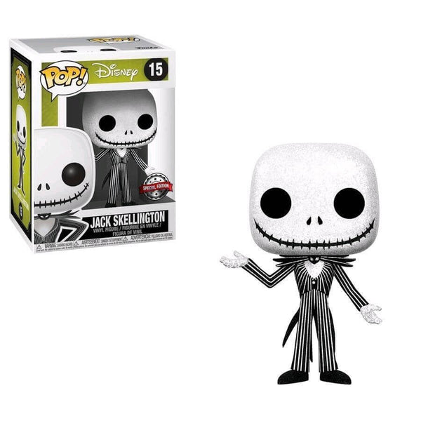 Nightmare Before Christmas Jack Skellington Diamond Collection Glitter Funko Pop! Vinyl Figure Special Edition #15