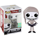 Nightmare Before Christmas Pajama Jack Skellington SDCC Exclusive Funko Pop! Vinyl Figure #205