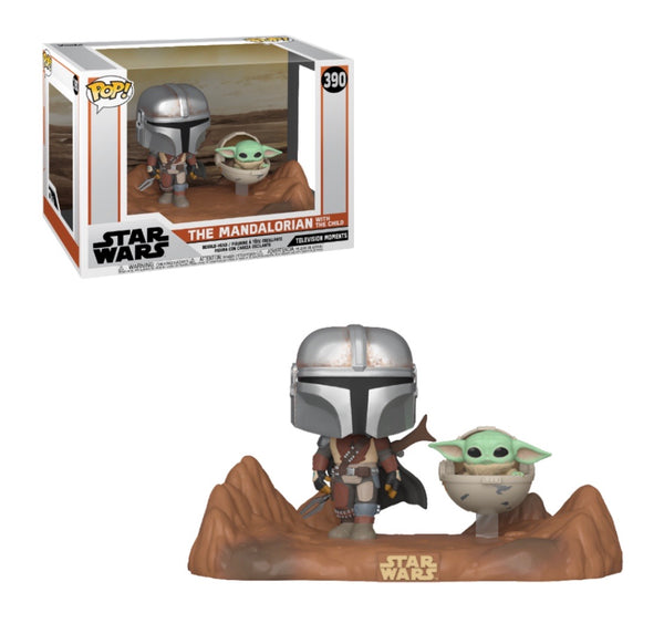 Star Wars The Mandalorian and The Child (Baby Yoda) Funko Pop! TV Moment