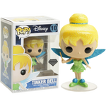Peter Pan Tinker Bell Diamond Glitter Funko Pop! Vinyl