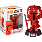 Star Wars The Mandalorian Red Metallic Funko Pop! Vinyl