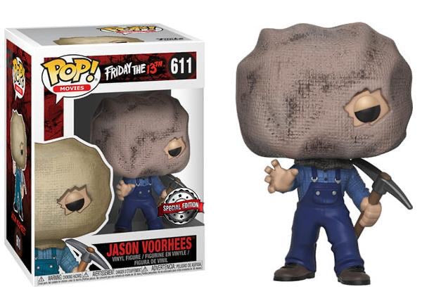 Jason Voorhees Bag Mask Friday The 13th Funko POP! Vinyl