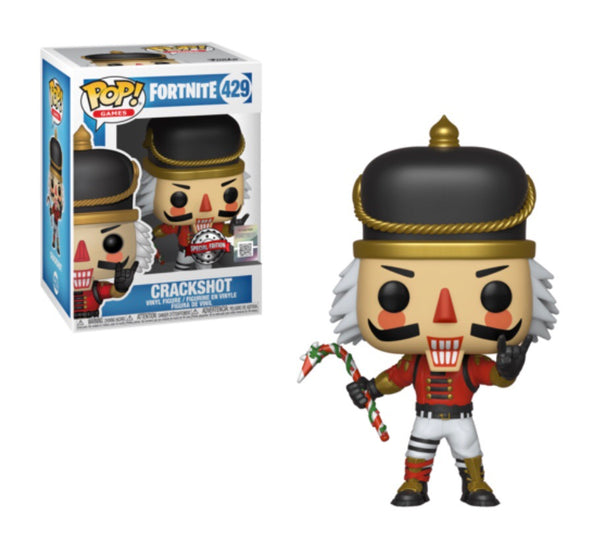 Fortnite Crackshot Funko Pop Vinyl Figure Special Edition #429
