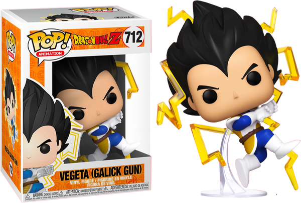 Dragon Ball Z Vegeta Galick Gun Funko Pop Vinyl Figure Exclusive