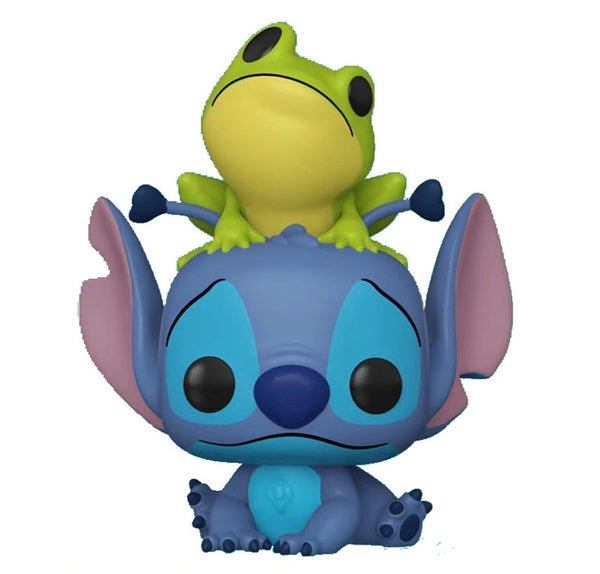 Lilo And Stitch, Stitch With Frog Funko Pop Vinyl Figure Disney Special Edition