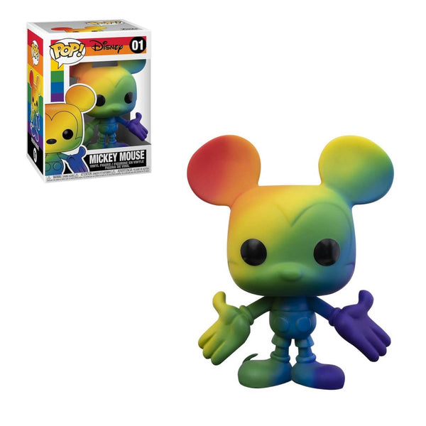 PRE ORDER Pride Rainbow Disney Mickey Mouse Funko Pop! Vinyl