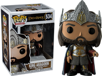 King Aragorn Funko Pop Vinyl Figure Lord Of The Rings