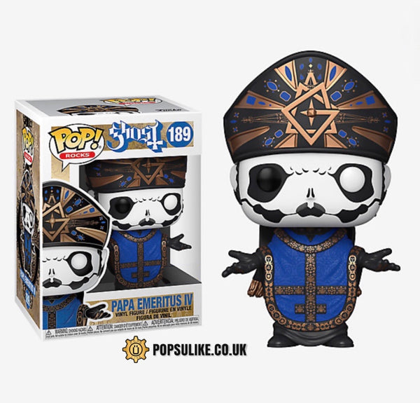 Ghost Papa Emeritus IV Funko Pop Vinyl Figure