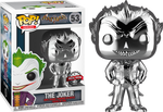 Batman Arkham Asylum Silver Chrome The Joker Funko Pop Vinyl Figure