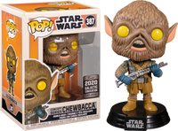 PRE ORDER Star Wars Chewbacca Ralph McQuarrie Collection Funko POP! VInyl Figure (2020 Galactic Convention Exclusive )