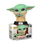 PRE ORDER Star Wars Mandalorian The Child (baby yoda) With Control Knob Funko Pop Vinyl Figure
